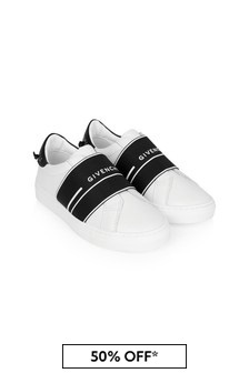 Givenchy Kids Boys Black Trainers