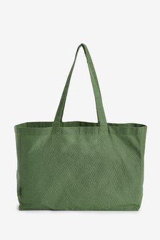 Green Cotton Bag For Life