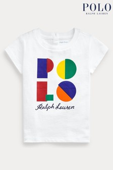 Ralph Lauren White Logo T-Shirt