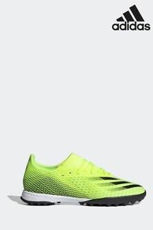 adidas Yellow X P3 Turf Football Boots