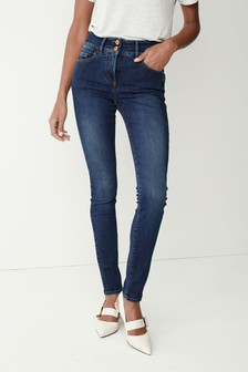 Dark Wash Enhancer Skinny Jeans