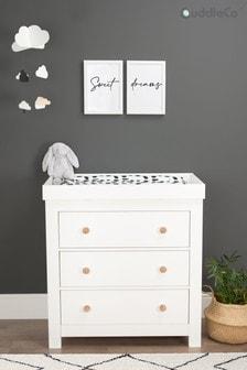 White Ash Aylesbury 3 Drawer Dresser Changer by CuddleCo