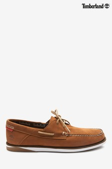 Timberland® Tan Atlantis Break Boat Shoes