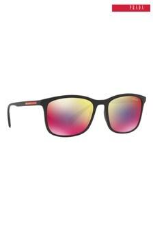 Prada Sport Black Rubber Sunglasses