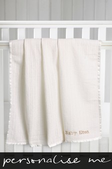Personalised Newborn Blanket