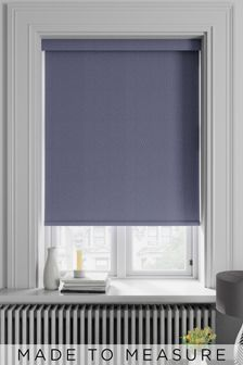 Arden Plum Purple Made To Measure Blackout Roller Blind
