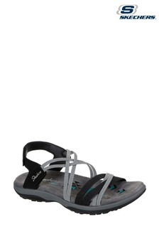Skechers® Black Reggae Slim Takes Two Sandals