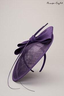 Phase Eight Purple Winnie Disc Fascinator