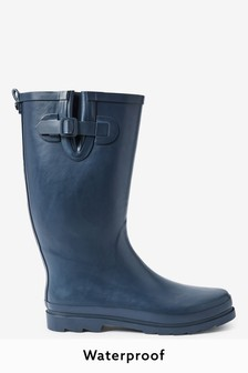 Navy Wellington Boots