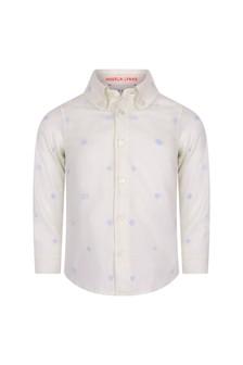 قميصأكسفورد قطنأبيض للأولادالبيبي