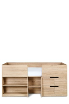 Oak Effect Compton Cabin Bed