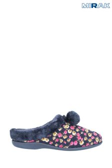 Mirak Chabilis Floral Mule Slippers