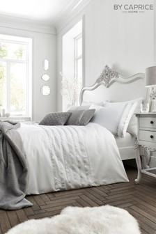 Caprice Exclusive to Next Garbo Luxury Embellished Duvet Cover and Pillowcase Set