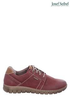 Josef Seibel Red Steffi Waterproof Lace-Up Shoes