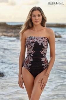 Miraclesuit® Tamarind Avanti Bandeau Swimsuit