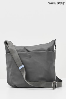 White Stuff Grey Willow Nylon Cross Body Bag