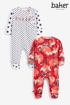Baker by Ted Baker Sleepsuits 2 Pack