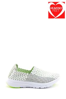 Heavenly Feet White Ladies Ath-Leisure Shoes