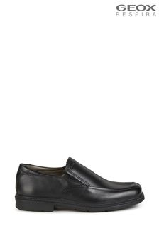 Geox Junior Boy/Unisex's Federico Black Shoes