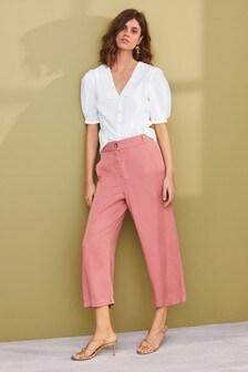 Pink TENCEL™ Culottes