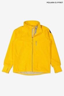 Polarn O. Pyret Yellow Waterproof Fleece Jacket
