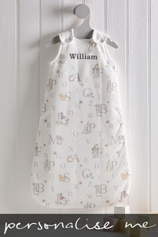 Personalised Peter Rabbit 2.5 Tog Sleep Bag