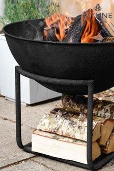 Outdoor Cast Iron Firebowl by Ivyline