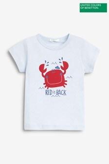 Benetton Animal Graphic T-Shirt