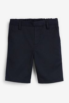 Navy Pull-On Shorts (3-12yrs)