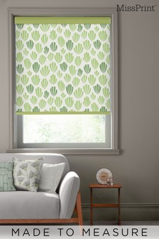 Hoja Spring Green Made To Measure Roller Blind by MissPrint