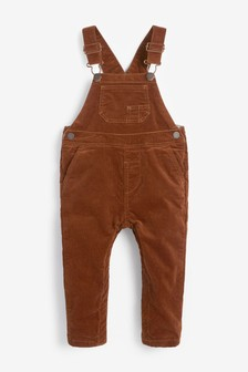 Ginger Cord Dungarees (3mths-7yrs)