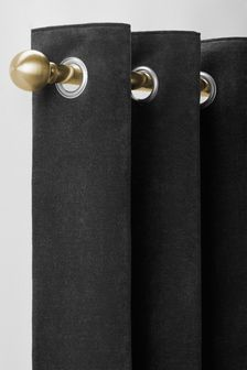 Extendable Ball Eyelet 28mm Curtain Pole Kit