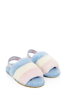 Girls Multicolur Fluff Yeah Slides