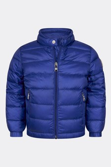 Baby Boys Blue Acorus Jacket