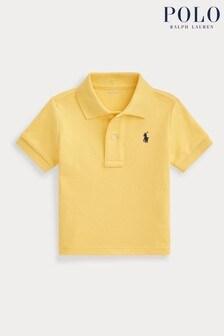 Ralph Lauren Yellow Logo Polo