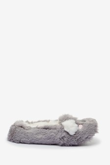 Grey Koala Character Slippers