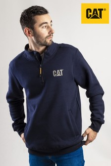 CAT® Blue Canyon 1/4 Zip Sweatshirt