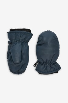 Navy Ski Mittens (Younger)