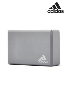 adidas Grey Yoga Block