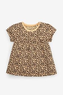 Animal Print Cotton T-Shirt (3mths-7yrs)