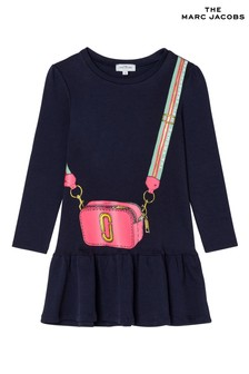 The Marc Jacobs Navy Frill Dress