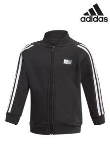 adidas Little Kids Black Mickey Mouse Track Top