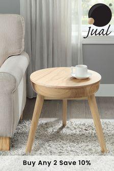 Oak San Francisco Lamp Table By Jual