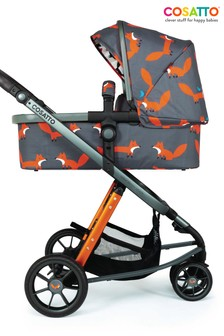 Charcoal Mister Fox Giggle 3 Pram And Pushchair By Cosatto
