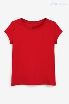 Ralph Lauren Red Logo T-Shirt