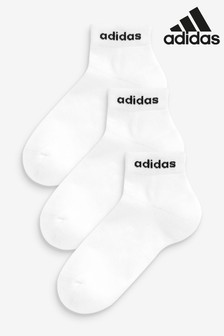 adidas Kids Linear Logo Ankle Socks Three Pack