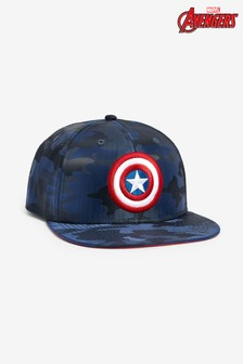 Navy Camo Captain America Cap (Older)