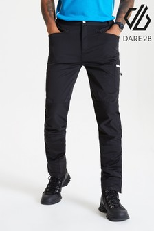 Dare 2b Black Appended Softshell Trousers