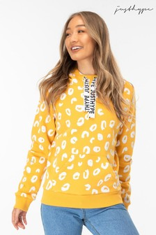 Hype. Womens Mango Spots Pullover Hoody
