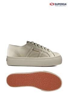 Superga® Natural 2790 Organic Herringbone Shoes